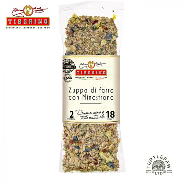 【Tiberino】義大利斯佩爾特小麥鮮蔬濃湯(200克) Tiberino,義大利麵,太空包,義大利麵,義式料理,斯佩爾特小麥鮮蔬濃湯,小麥鮮蔬濃湯,濃湯