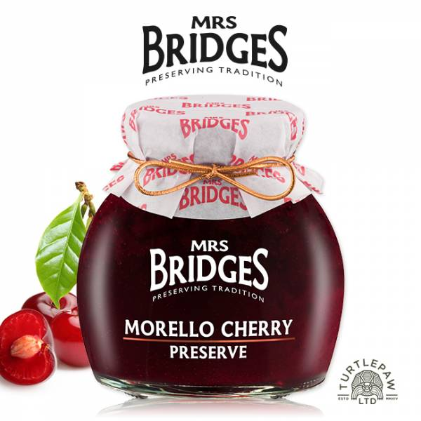 【MRS. BRIDGES】英橋夫人紅櫻桃果醬(大)340g MRS. BRIDGES,英橋夫人,紅櫻桃,果醬
