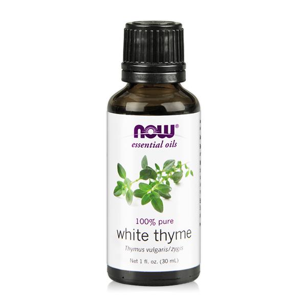 【NOW】沉香醇百里香精油(30 ml) White Thyme Oil /純精油  百里香 精油,百里香 功效,提神,保養,放鬆,壓力,按摩,緊張,抗菌,舒緩,now,精油,沉香醇百里香,百里香