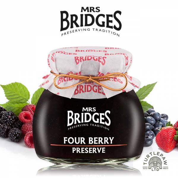 【MRS. BRIDGES】英橋夫人莓果四重奏綜合果醬(小)113g MRS. BRIDGES,英橋夫人,莓果四重奏綜合,果醬,莓果