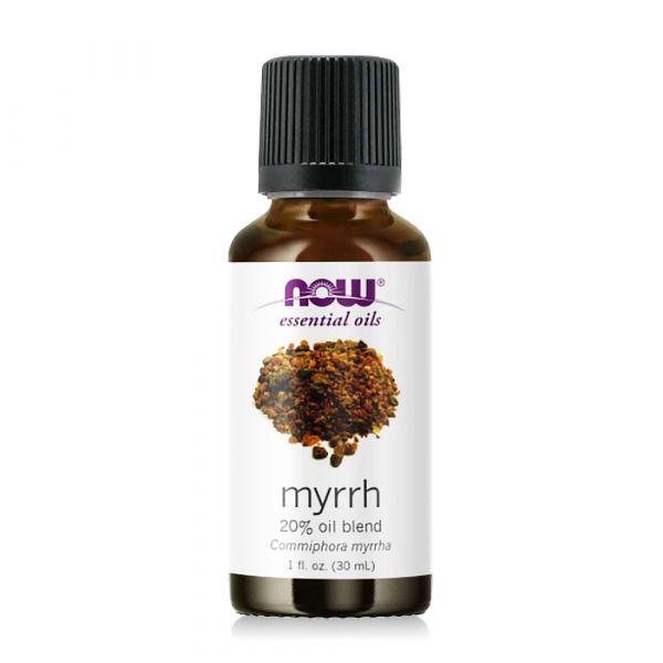 【NOW】沒藥20%調和精油(30ml) Myrrh Oil  馬鬱蘭,精油,功效,提神,保養,放鬆,壓力,按摩,緊張,now,精油