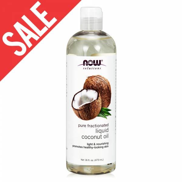 限時【NOW】椰子基底油(16oz/473ml) Liquid Coconut Oil 效期至2020/12 now,基底油,基礎油,按摩油,椰子油