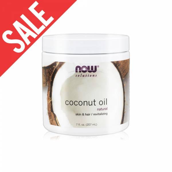 限時62折【NOW】純淨椰子油(7oz/207ml)Coconut Oil Pure now,基底油,基礎油,按摩油,椰子油