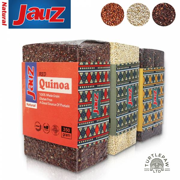 【JAUZ喬斯】紅藜麥+白藜麥+黑藜麥QUINOA (350公克*3包) JAUZ,喬斯,藜麥,QUINOA,