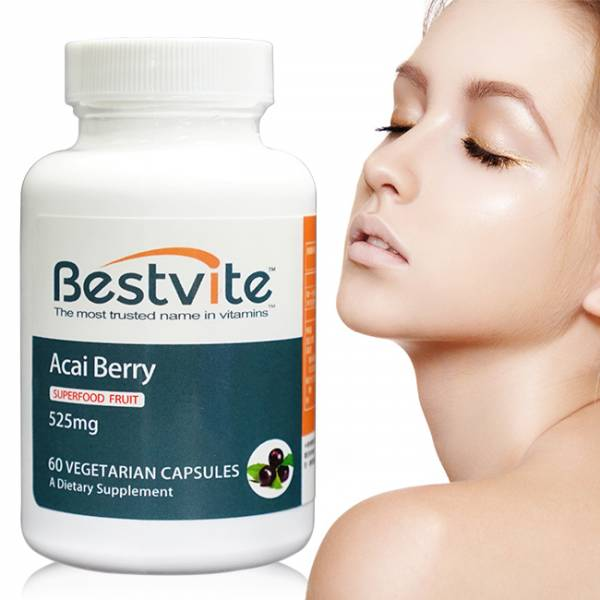 【美國BestVite】必賜力高濃縮巴西莓膠囊1瓶 (60顆) 高濃縮巴西莓,BestVite,必賜力,保健食品