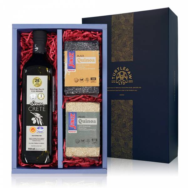 油藜真好禮盒-奧莉恩橄欖油.黑藜麥.白藜麥 禮盒組,橄欖油,黑藜麥,白藜麥
