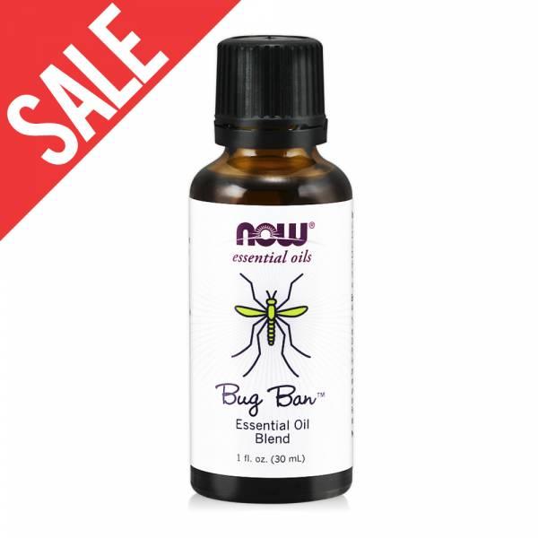 限時【NOW】Bug Ban™ 蟲蟲不要來草本複方精油(30 ml) Essential Oil Blend 放鬆,壓力,蚊蟲 叮咬 推薦,緊張,now,精油,蟲蟲,草本複方,香茅