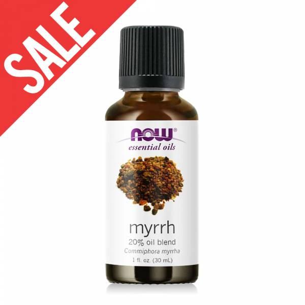 限時66折-【NOW】沒藥20%調和精油(30ml) Myrrh Oil  馬鬱蘭,精油,功效,提神,保養,放鬆,壓力,按摩,緊張,now,精油