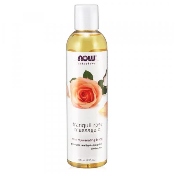 【NOW】恬靜玫瑰按摩油(8oz/237ml)Tranquil Rose Massage Oil now,基底油,基礎油,按摩油,玫瑰,千葉玫瑰
