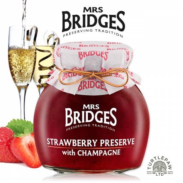 【MRS. BRIDGES】英橋夫人草莓香檳果醬(大)340g MRS. BRIDGES,英橋夫人,草莓香檳,果醬