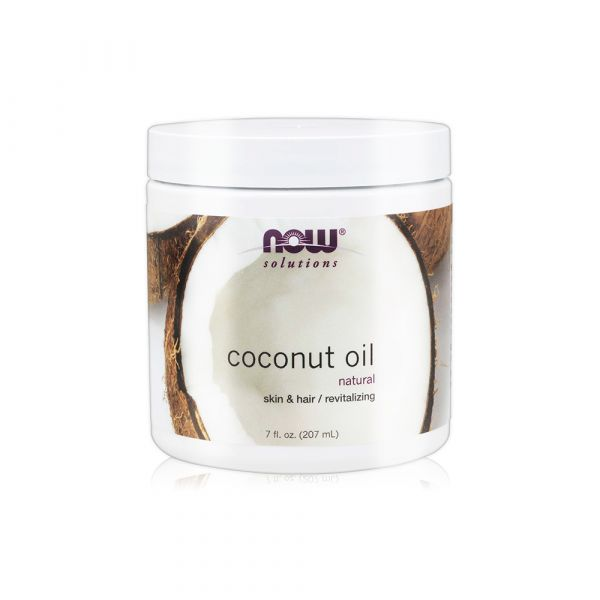 【NOW】純淨椰子油(7oz/207ml)Coconut Oil Pure now,基底油,基礎油,按摩油,椰子油