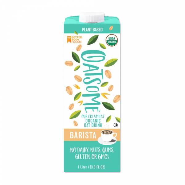 【OATSOME】咖啡師燕麥奶(1000ml) Barista Oat  燕麥,植物奶,堅果奶,咖啡
