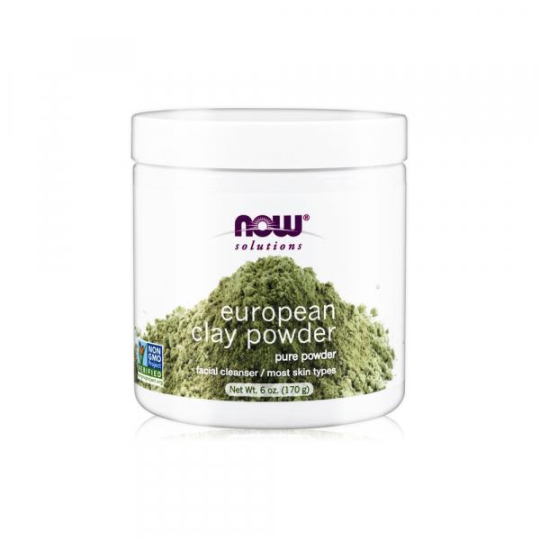 【NOW】歐洲蒙脫土泥膜(6oz/170g) European Clay Powder 效期至2023/11/深層淨化毛孔/細緻肌膚/面膜 泥膜,歐洲蒙脫土,NOW,保濕