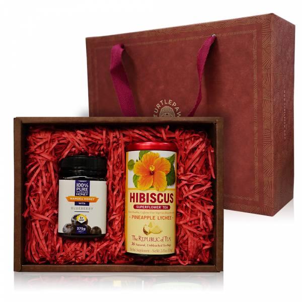 悠閒午茶系列禮盒 禮盒組,蜂蜜,茶葉