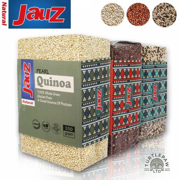 【JAUZ喬斯】紅藜麥+白藜麥+三色藜麥QUINOA (350公克*3包) JAUZ,喬斯,藜麥,QUINOA,