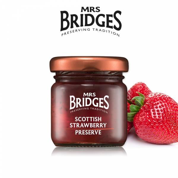 贈-【MRS. BRIDGES】英橋夫人蘇格蘭草莓果醬42公克 MRS. BRIDGES,英橋夫人,蘇格蘭草莓,果醬,草莓