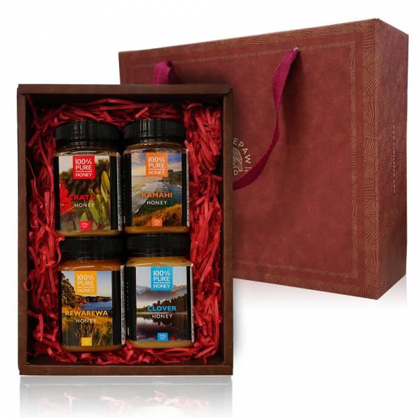 紐西蘭甜甜蜜蜜蜂蜜禮盒 禮盒組,蜂蜜