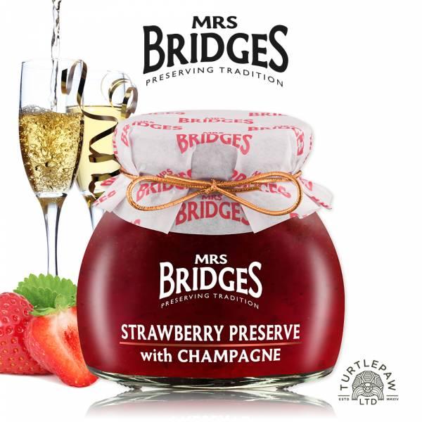 【MRS. BRIDGES】英橋夫人草莓香檳果醬(小)113g MRS. BRIDGES,英橋夫人,草莓香檳,果醬