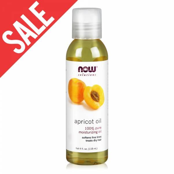 限時【NOW】杏桃核仁油(4 oz / 118 ml )Apricot Kernel Oil now,基底油,基礎油,按摩油,杏桃核仁