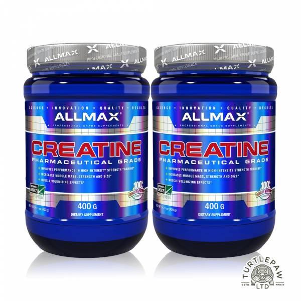 【加拿大ALLMAX】奧美仕肌酸粉末2瓶 (400公克*2瓶) 肌酸粉末,ALLMAX,奧美仕