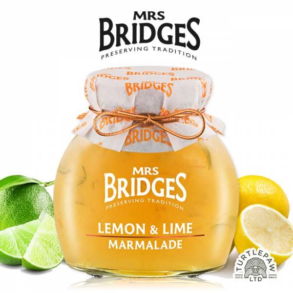 【MRS. BRIDGES】英橋夫人檸檬萊姆果醬 (大)340g MRS. BRIDGES,英橋夫人,檸檬萊姆,果醬