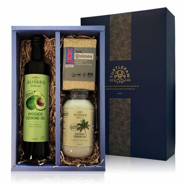 福氣養身禮盒-酪梨油.白藜麥.椰子油 禮盒組,酪梨油,白藜麥,椰子油