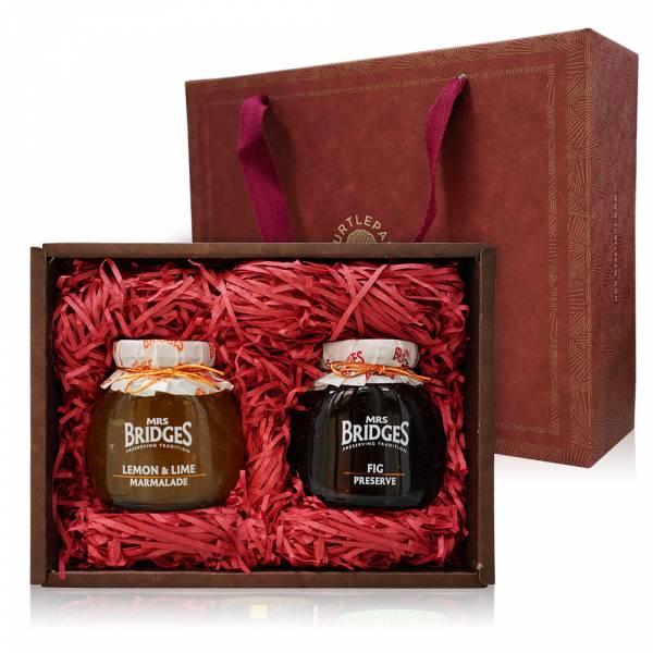 英橋夫人果醬系列禮盒-340G 禮盒組,果醬