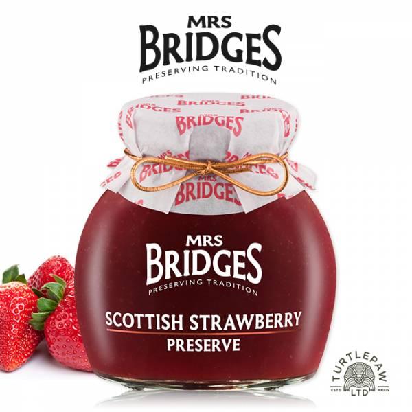 【MRS. BRIDGES】英橋夫人蘇格蘭草莓果醬 (大)340g  MRS. BRIDGES,英橋夫人,蘇格蘭草莓,果醬,草莓