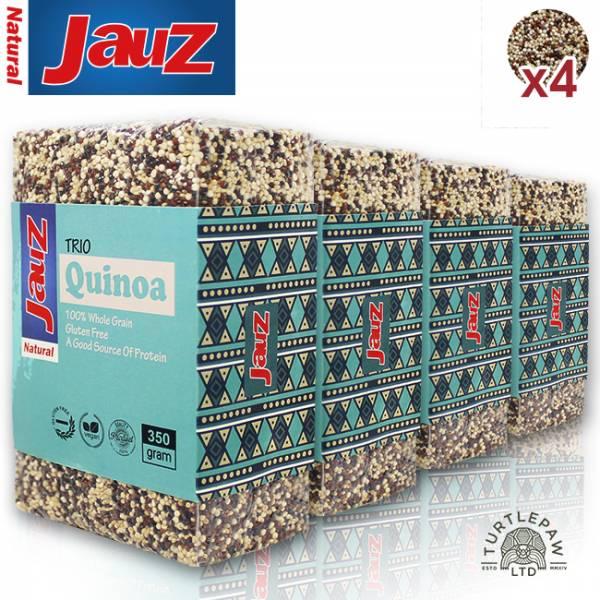 【JAUZ喬斯】三色藜麥QUINOA (350公克*4包) JAUZ,喬斯,藜麥,QUINOA,