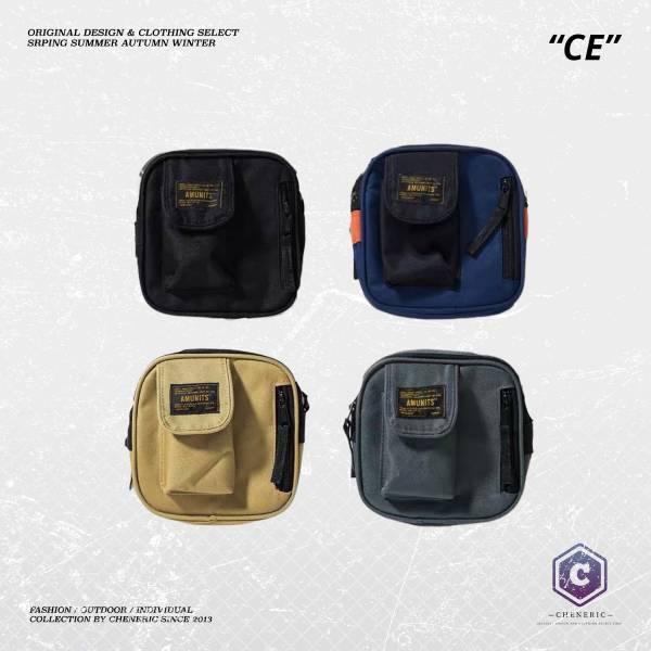 【日系斜背工裝小包】 鐵灰 卡其 藏青 黑 工裝, 日系,斜背包,小包 ,單肩包,側背包