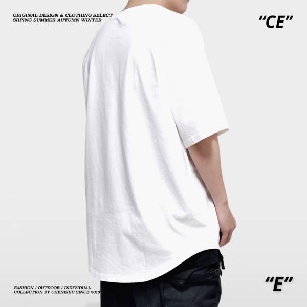 【落肩圓弧TEE】250g重磅寬鬆 白 落肩,重磅,寬鬆,圓弧,cheneric