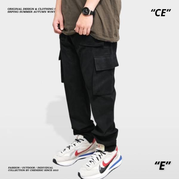 【多口袋工作褲2.0】 工裝六口袋直筒卡哈Carhartt 黑 工作褲,余文樂,寬鬆,工裝,大口袋,直筒,卡哈,Carhartt