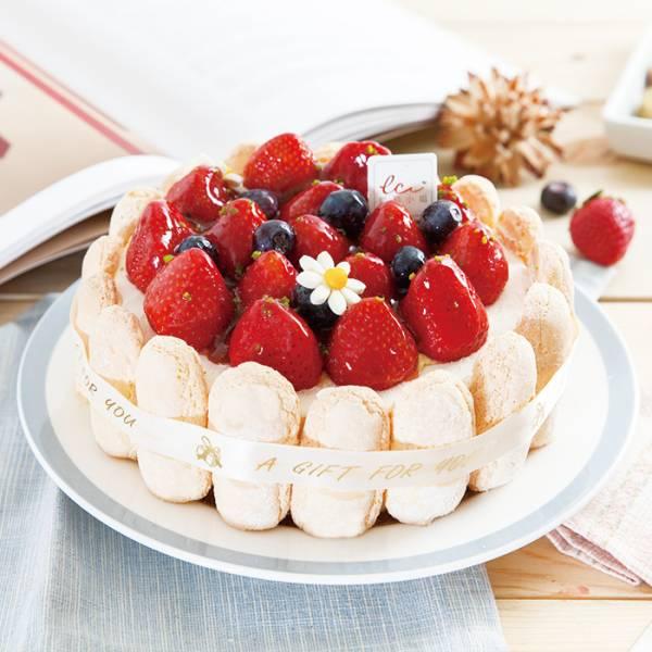 水果白色戀人-6吋