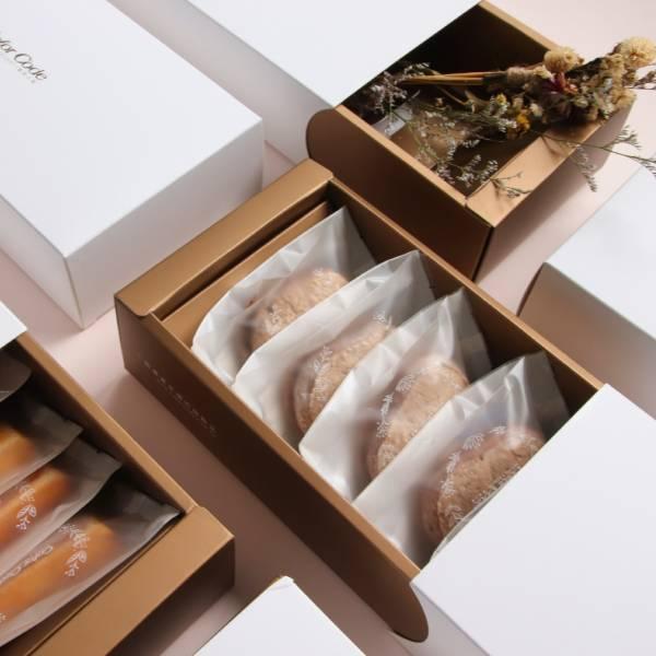 巧克力達克瓦茲禮盒(6入) 春節禮盒,送禮推薦,伴手禮,手工餅乾,達克瓦茲,巧克力,達克華滋