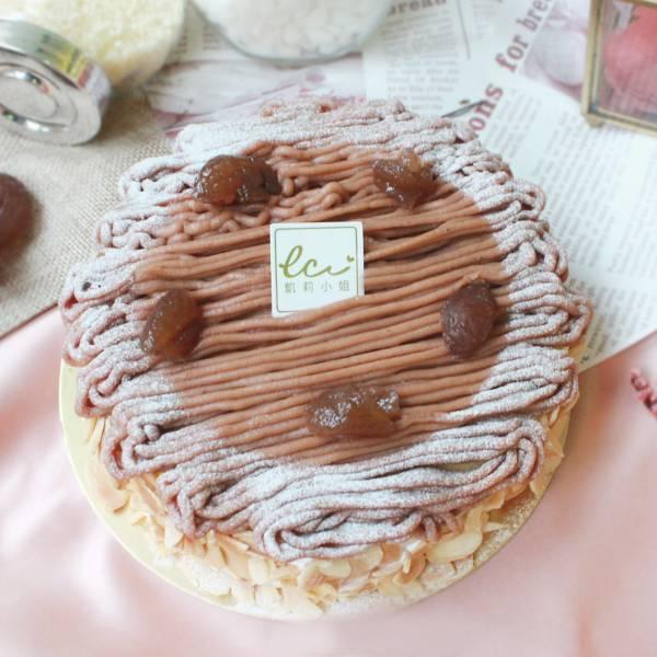 栗子乳酪蛋糕-6吋 栗子蛋糕,栗子輕乳酪蛋糕,生日蛋糕推薦,長輩生日蛋糕推薦