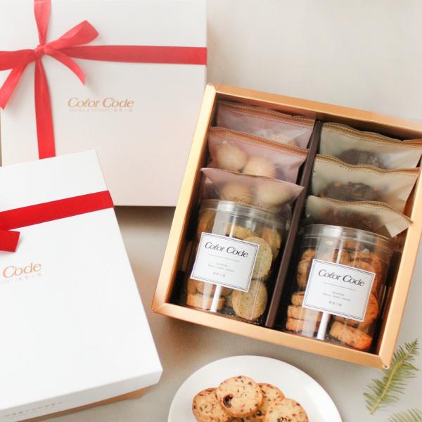 法式金典手工餅乾禮盒