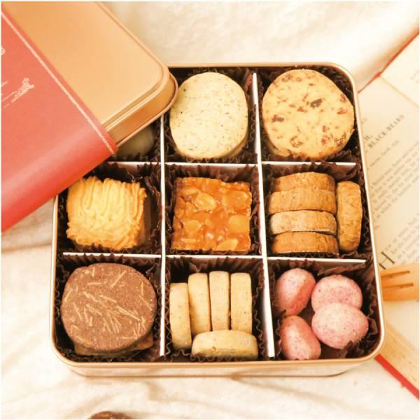 手工餅乾鐵盒 過年新春鼠年禮盒伴手禮推薦手工餅乾禮盒鐵盒包裝