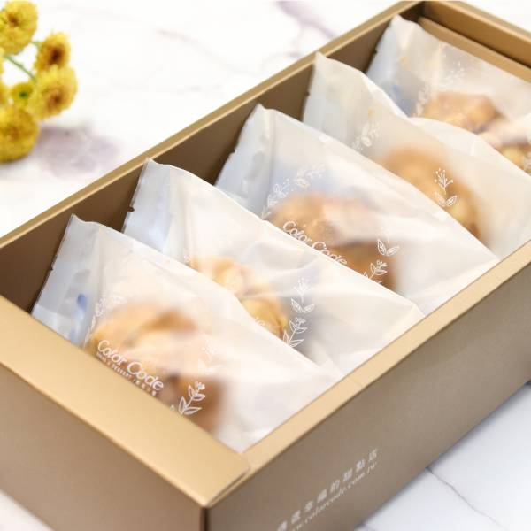 【送禮推薦】夏威夷豆塔禮盒 (6入) 春節禮盒,送禮推薦,伴手禮,手工餅乾,夏威夷豆,夏威夷豆塔