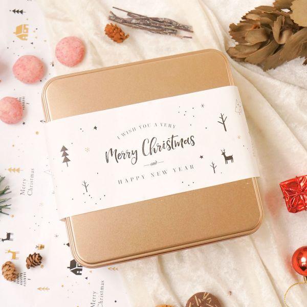 聖誕手工餅乾鐵盒