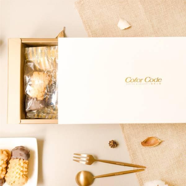 秋葉禮盒(8入) 春節禮盒,送禮推薦,伴手禮,手工餅乾,奶酥巧克力,秋葉餅乾