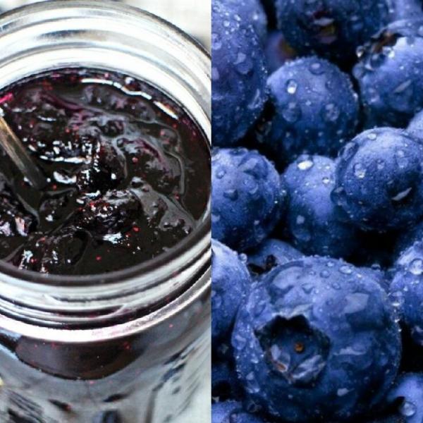【記得要冰-藍莓果醬】:  選用野生冷凍藍莓 手工果醬, 藍莓, 果醬, 駱師傅法式冰淇淋之家, 駱師傅冰淇淋