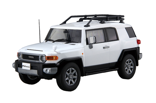 FUJIMI 1/24 Car Next 9 TOYOTA FJ Cruiser (white) 車NEXT 豐田 FJ Cruiser 復古越野車 白色 富士美,FUJIMI,car next,TOYOTA,豐田,FJ Cruiser,越野車