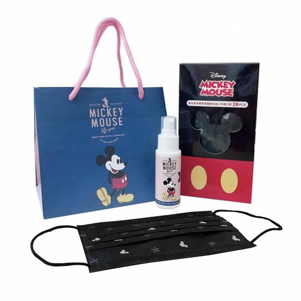 Holic 迪士尼米奇成人平面盒裝口罩附贈限量提袋 (萊潔製造)