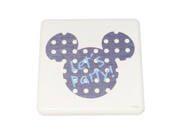 迪士尼彩繪2入皂盤組 -米奇派對