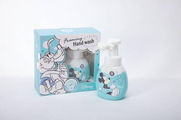 米奇造型洗手清潔慕斯 可擠出米奇形狀泡沫 蜂王迪士尼