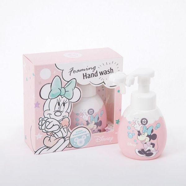 米妮造型洗手清潔慕斯 可擠出米奇形狀泡沫 蜂王迪士尼