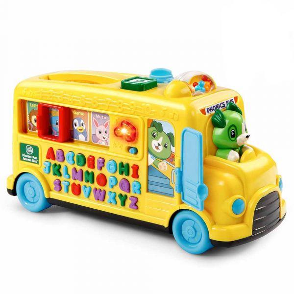 Leap Frog動物字母發音小巴士