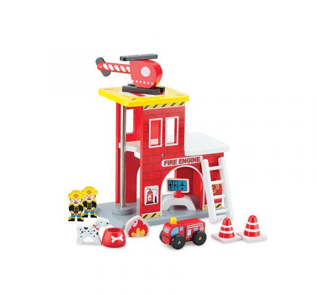 New Classic Toys小英雄消防署木製玩具