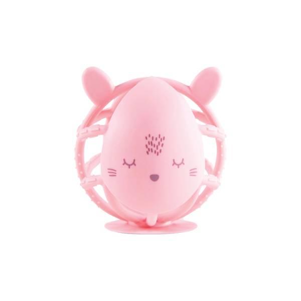 Tiny Twinkle感統咬咬球 小粉兔 oball洞動球,oball,洞洞球