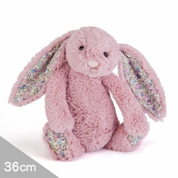 Jellycat安撫玩偶兔36cm|碎花粉